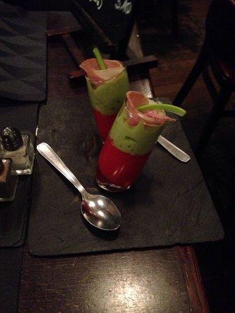 Restaurant Clin d'Oeil : Verrines de bienvenue