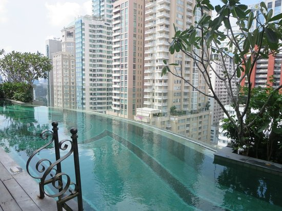 Hotel Muse Bangkok Langsuan, MGallery Collection : piscina giorno