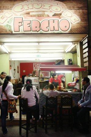 El Chuzo de Fercho : The 'Chuzo'