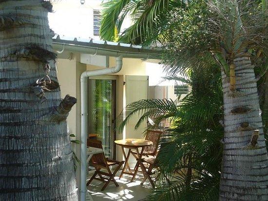 Appart Hotel Marina : Terrasse de chambre