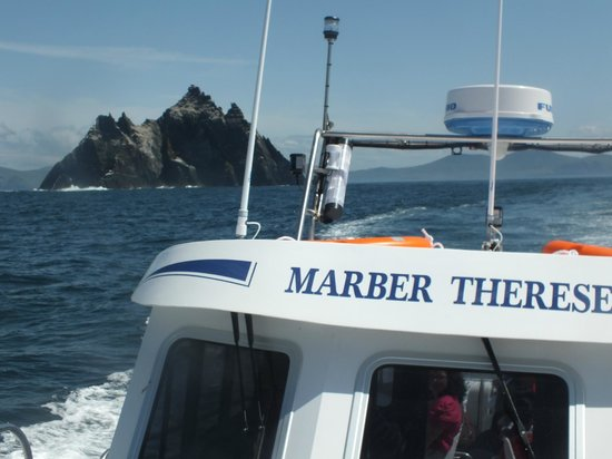 Skellig Michael Cruises: Our boat