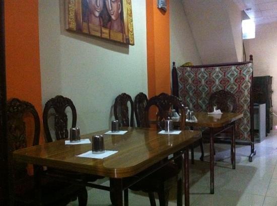 Sri Ram Indian Restaurant: интерьер