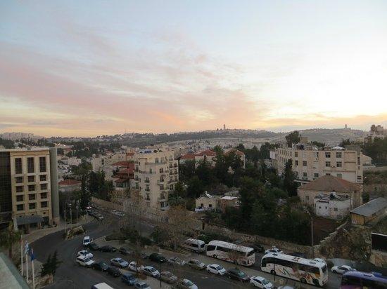 Leonardo Hotel Jerusalem : First evening at sun set