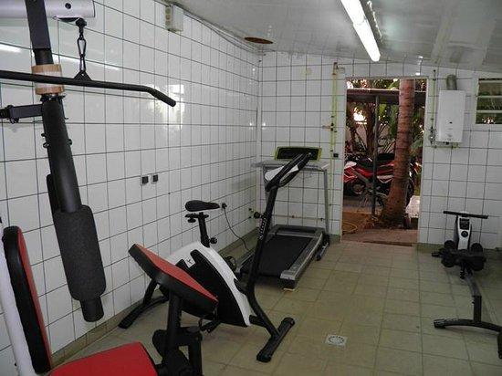 Appart Hotel Marina : Salle de gym