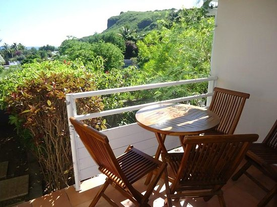 Appart Hotel Marina: Terrasse duplex