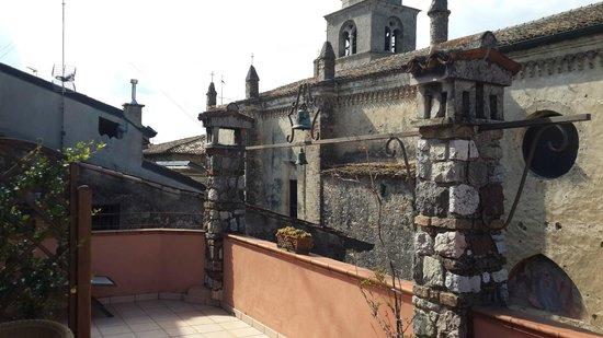 Hotel degli Oleandri: On the Terrace