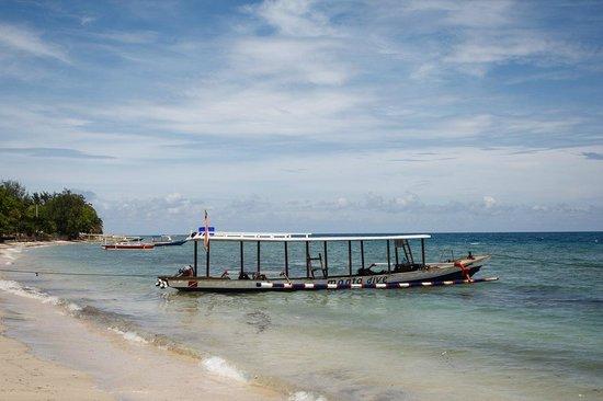One of the dive boats picture of manta dive gili air - Manta dive gili air ...