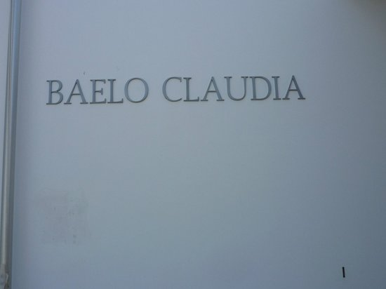 Conjunto Arqueológico Baelo Claudia: Naam situ