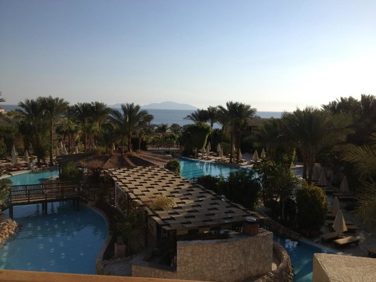 The Grand Hotel Sharm El Sheikh: Sharm Restuarant the view