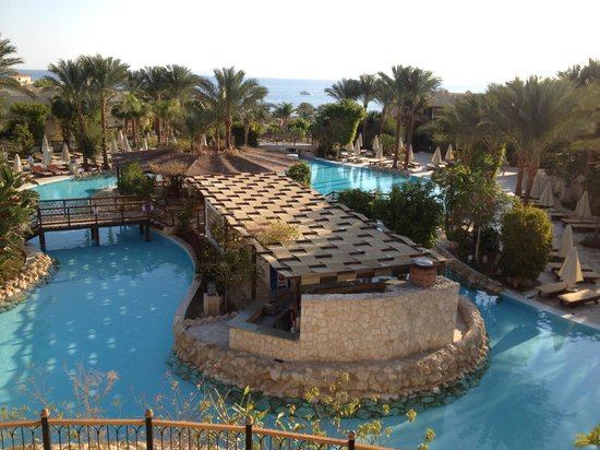 The Grand Hotel Sharm El Sheikh: View from the Restuarant