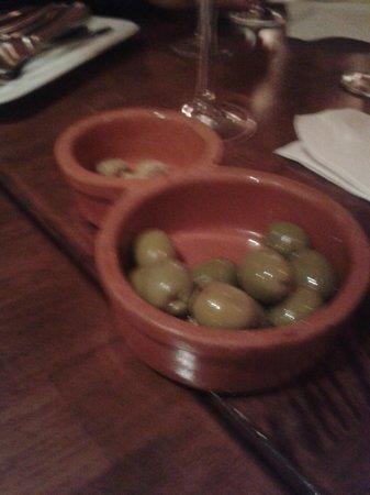 Casa Franco: leckere Oliven