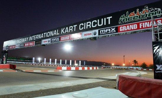 AL AIN RACEWAY INTERNATIONAL KART CIRCUIT