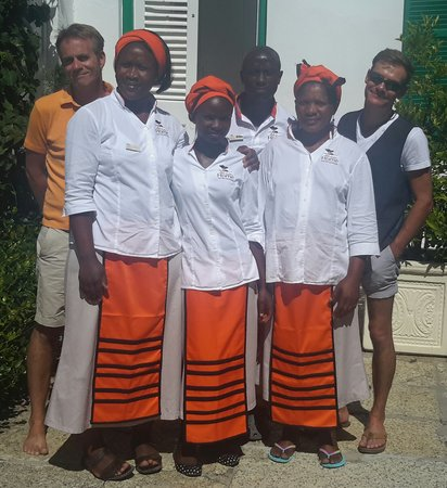 AfricanHome Guesthouse: Staff Team