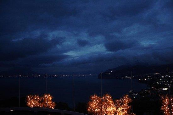 Grand Hotel Aminta: Vista Vesuvio e Napoli