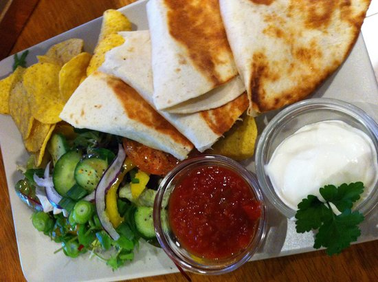 Cafe Lyspunktet: Lovely chicken tortilla