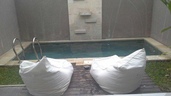 Uppala Villa Seminyak: Private plunge pool