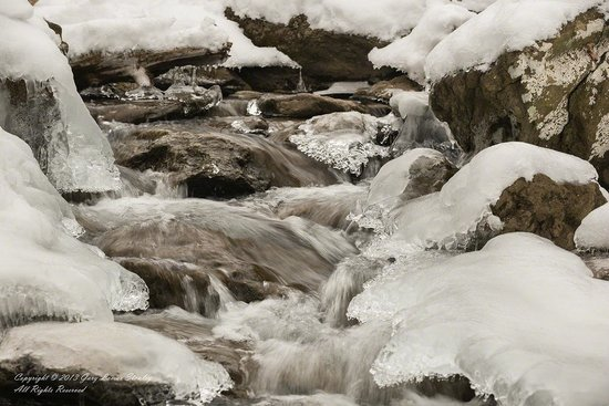 Cunningham Falls State Park: Motion and Ice at Cunningham Falls