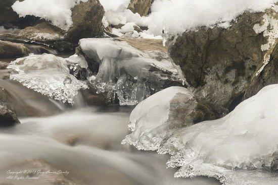 Cunningham Falls State Park: Ice Fairies at Cunningham Falls