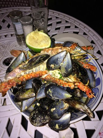 Grand Africa : mussells and crayfish