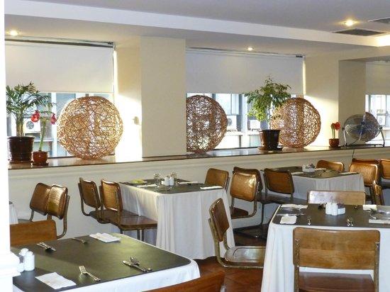 Hotel Galerias: salão do café da manhã