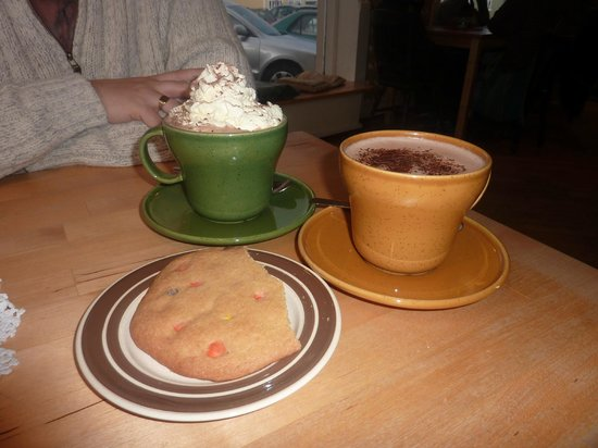 C is for Cookie: Big cups and big cookies!