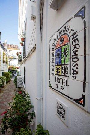 Hotel La Morada Mas Hermosa: Hotel con encanto en Málaga