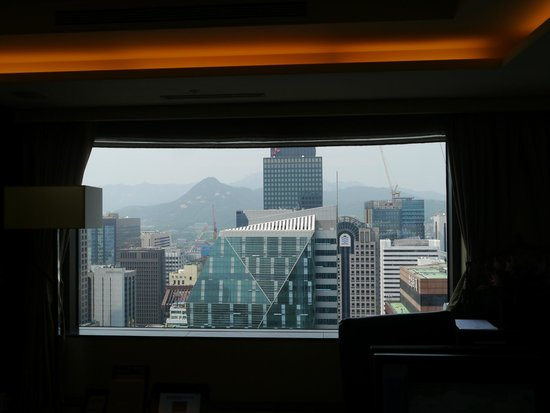 Lotte Hotel Seoul : View from club lounge