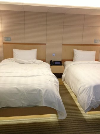 Lotte Hotel Seoul : Very comfy beds