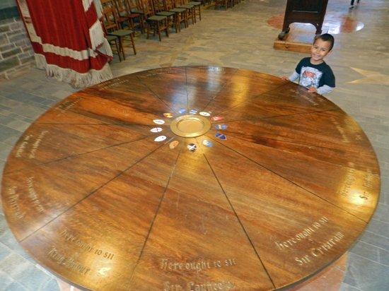 King Arthur 39 S Great Halls Round Table
