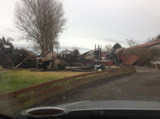 Solway Holiday Village : Not what we expected to see at our holiday destination