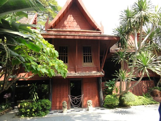 an analysis of the jim thomsons house Not only for his championing of thailand's silk revival but also justifiable by itself,  thompson's historic home deserves closer examination, as it.