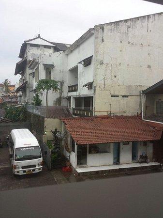 Primebiz Kuta Hotel : View from window