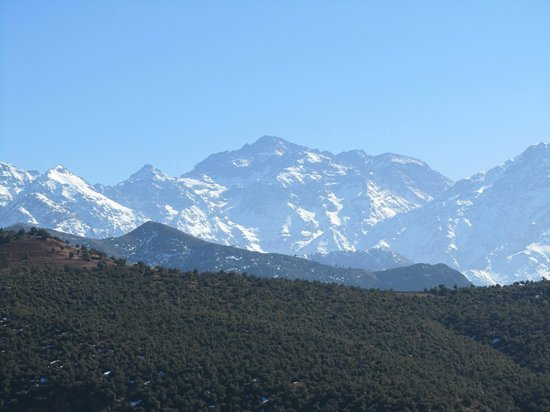 Morocco Attractive Tours : Mountain view