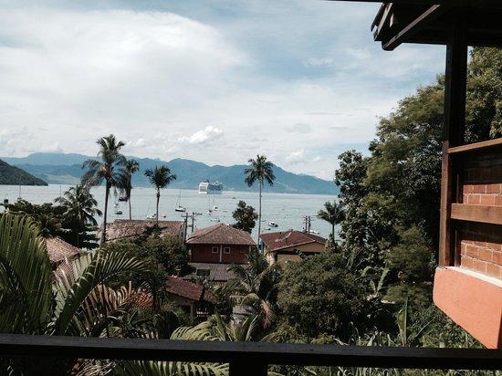 Pousada Tagomago Beach Lodge: Vista desde la habitación