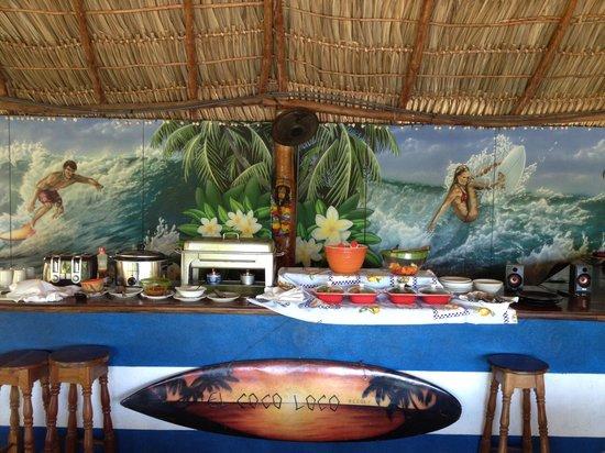 El Coco Loco Resort : Amazing meals everyday...