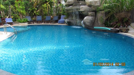 Thai Palace Resort: la piscine
