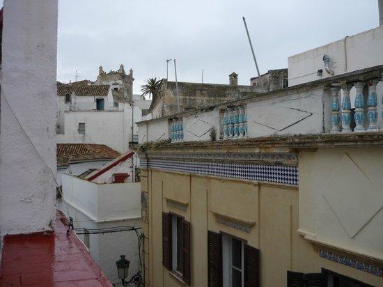 Pension Correo: Uitzicht op dakterras.
