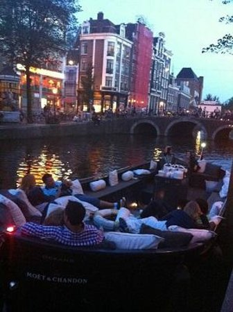 Friendship Amsterdam: at Sunset
