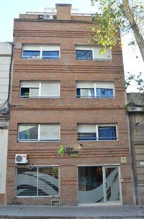 Che Lagarto Hostel Montevideo: Fachada