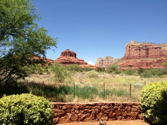 The Red Agave Resort: View from our Patio
