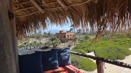 Villa Santa Cruz: View from palapa