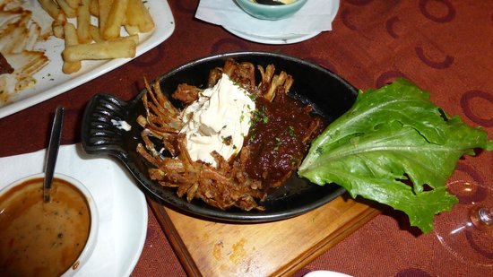 B's Steakhouse: fried Onion...