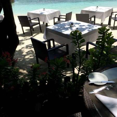 Lily Beach Resort & Spa: Terrasse