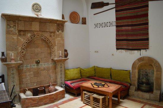 Riad Jade Mogador : lounge