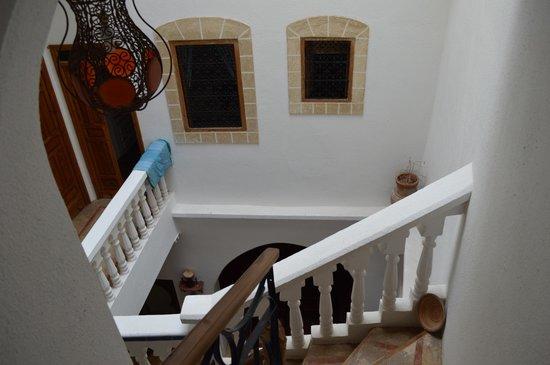 Riad Jade Mogador : stairway
