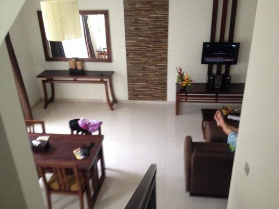 Uppala Villa Seminyak : Living area