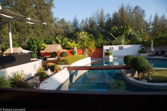 Cachet Resort Dewa Phuket - Nai Yang Beach : Aussicht beim Frühstück