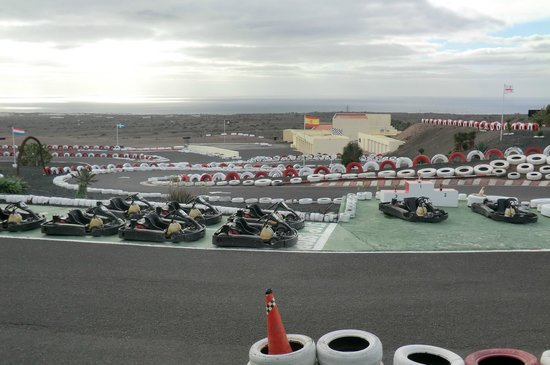 Lanzarote Karting: View of the track