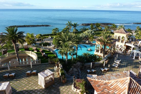IBEROSTAR Grand Hotel El Mirador: From fifth floor sea view room