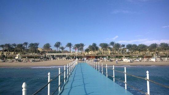 Rixos Sharm El Sheikh: view from the jetty
